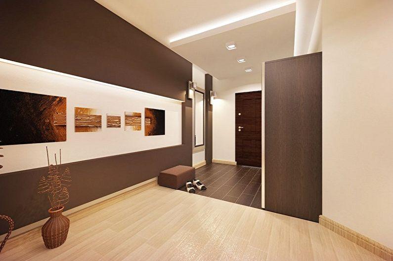 Коридор в современном стиле - Дизайн интерьера