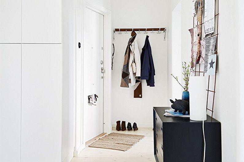 Коридор в скандинавском стиле - Дизайн интерьера