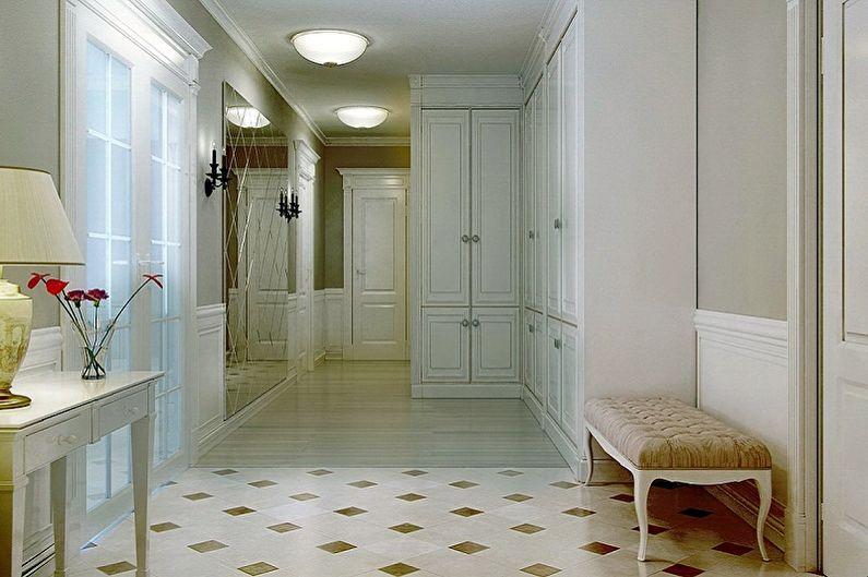Дизайн коридора в квартире - Отделка пола