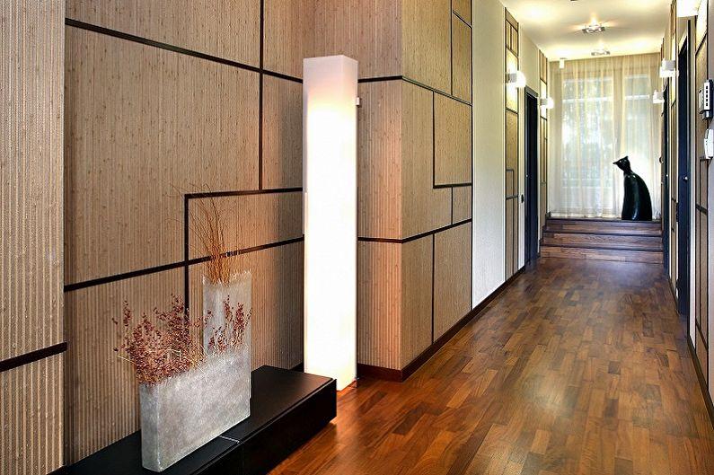Дизайн коридора в квартире - Отделка стен