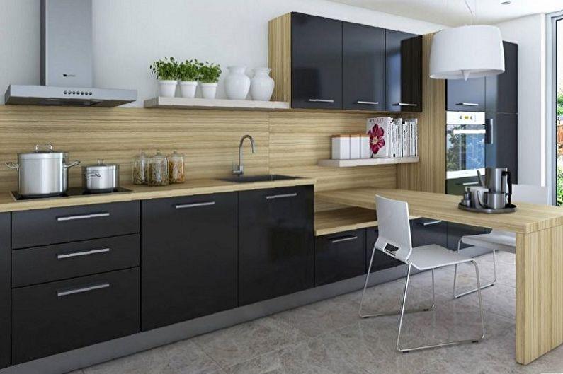 Дизайн бежевой кухни - Сочетание цветов