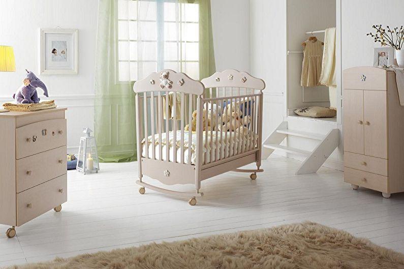 Детские кроватки для новорожденных - Размер