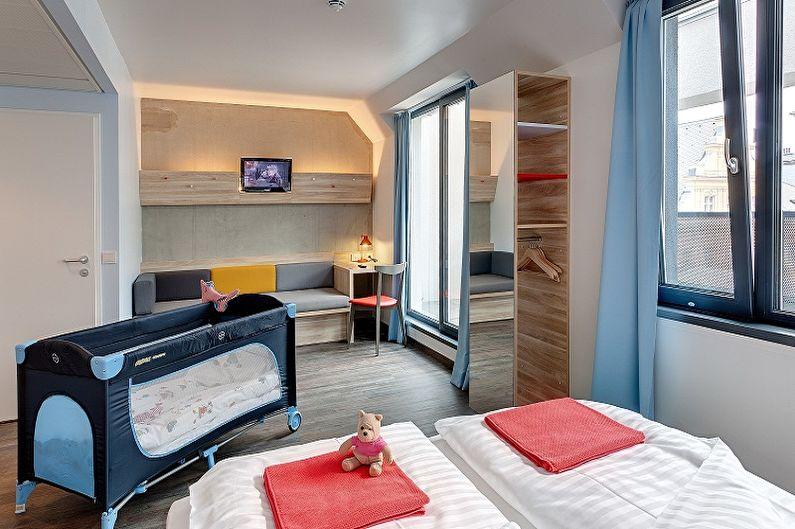 Типы детских кроваток для новорожденных по конструкции - Кровать-манеж