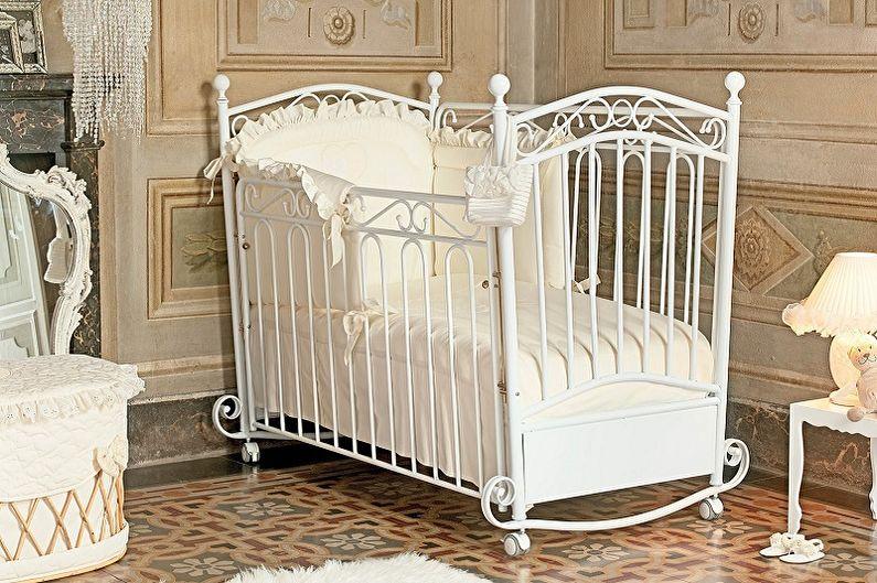Детские кроватки для новорожденных - фото