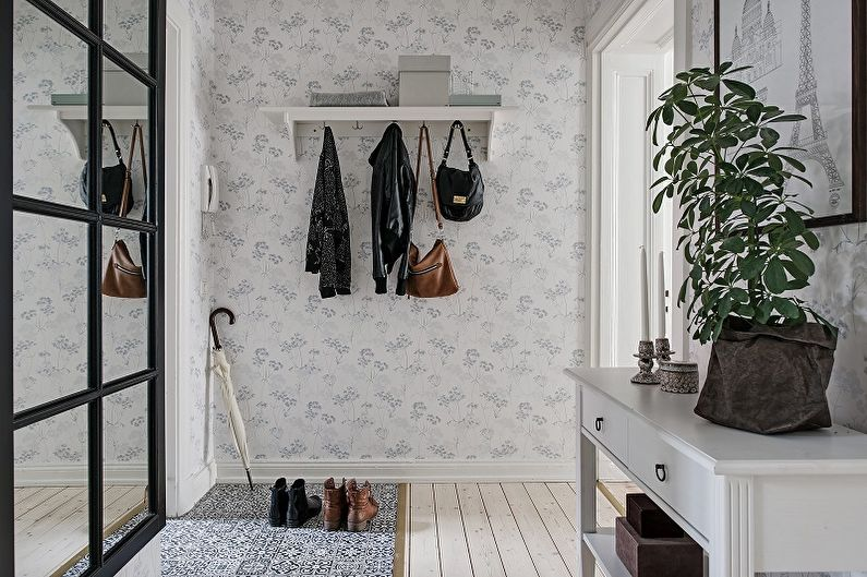 Прихожая в скандинавском стиле - дизайн интерьера фото
