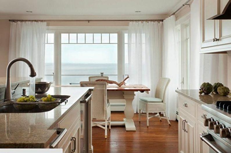 Mutfak için tül - Uzunluk ve konfigürasyon
