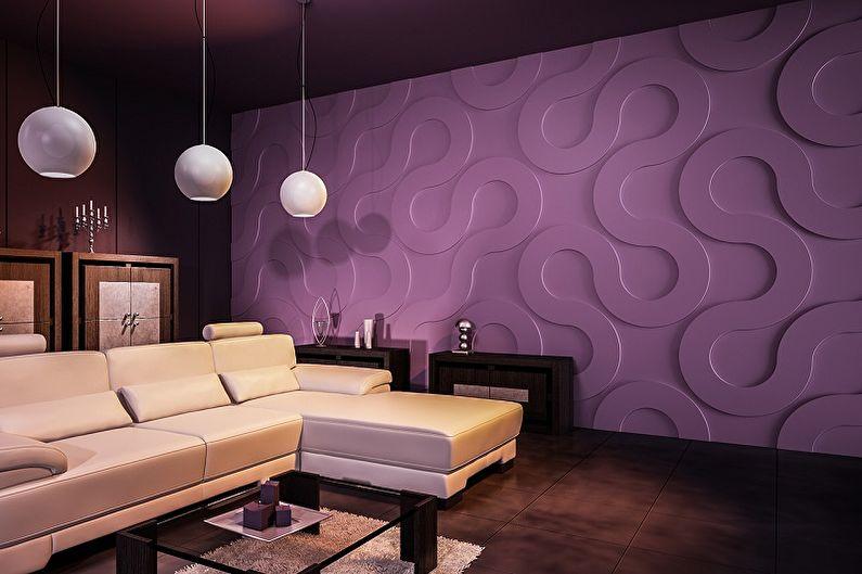 Стеновые панели для внутренней отделки - Что это