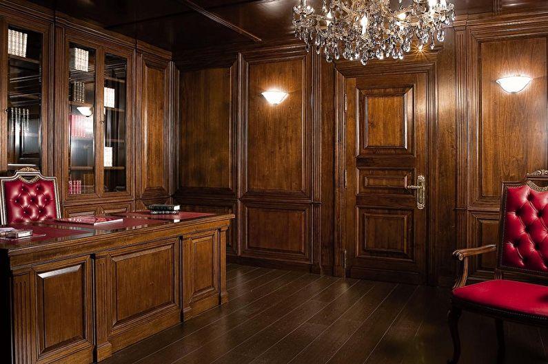 Виды стеновых панелей для внутренней отделки - Деревянные стеновые панели из массива