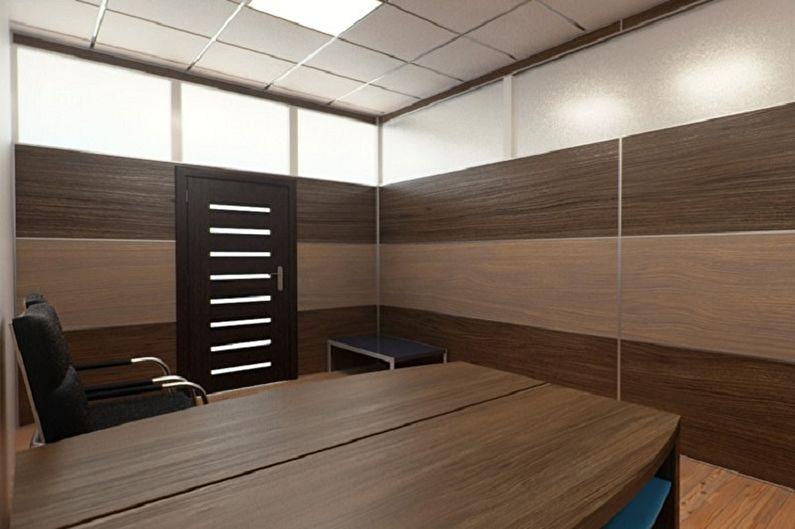 Виды стеновых панелей для внутренней отделки - Панели из ДСП