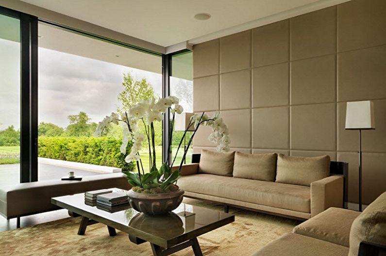 Виды стеновых панелей для внутренней отделки - Мягкие панели