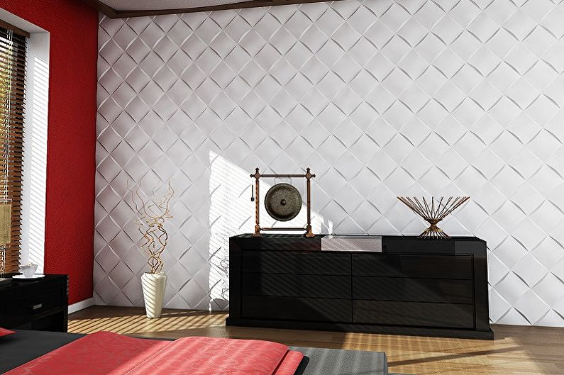 Типы конструкций стеновых панелей для внутренней отделки - Листовые панели
