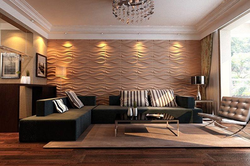Как выбрать стеновые панели для внутренней отделки