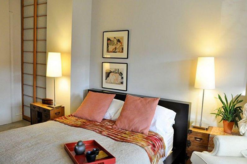 Дизайн спальни в японском стиле - Особенности