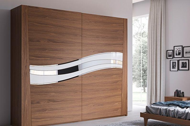 Виды платяных шкафов - Материал для изготовления