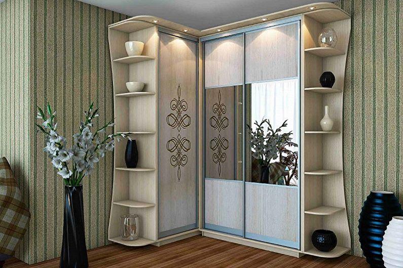 Виды платяных шкафов - По конструкции
