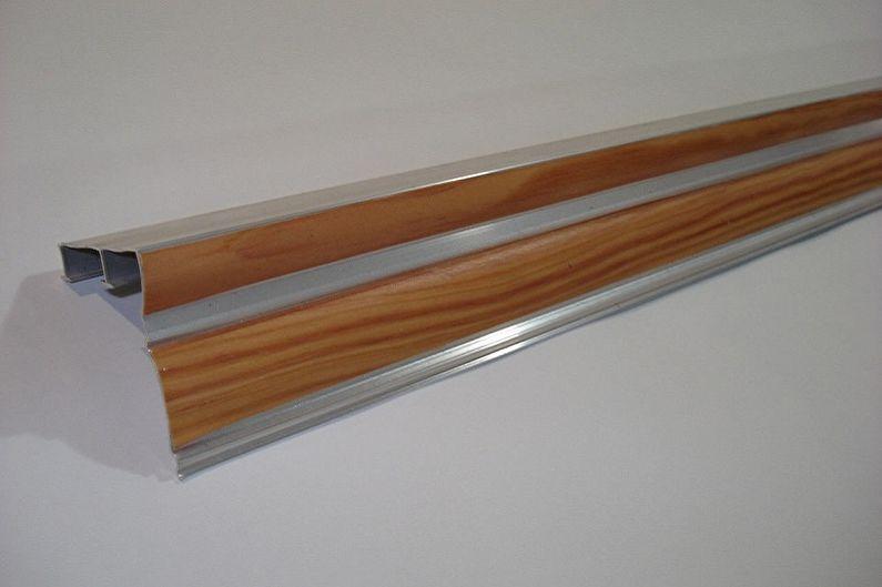 Алюминиевый карниз для штор