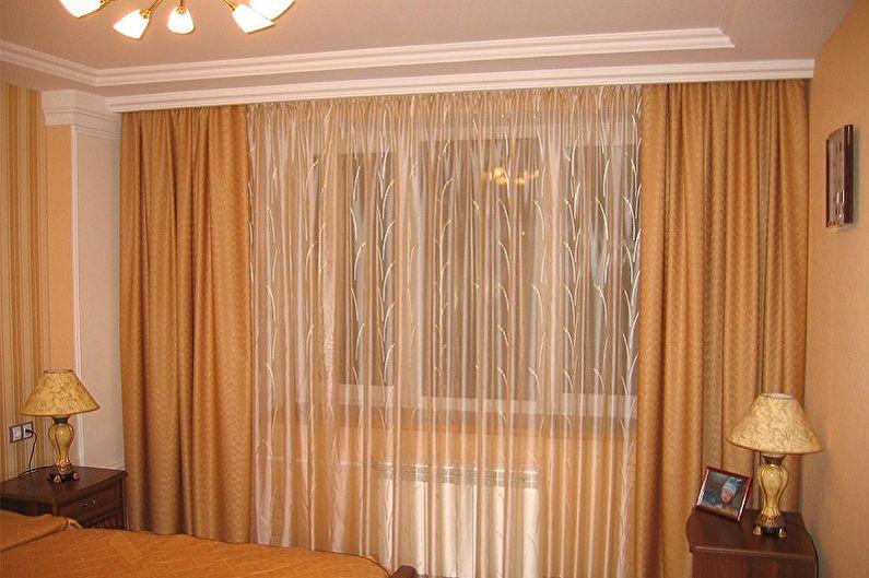 Современные карнизы для штор - домашний интерьер | 529x795