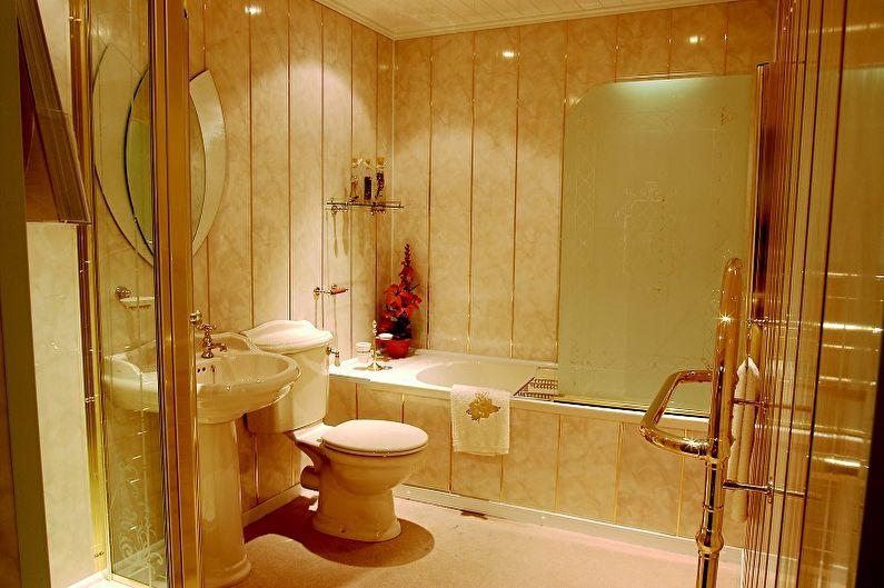 Пластиковые панели для ванной комнаты - Характеристики и преимущества