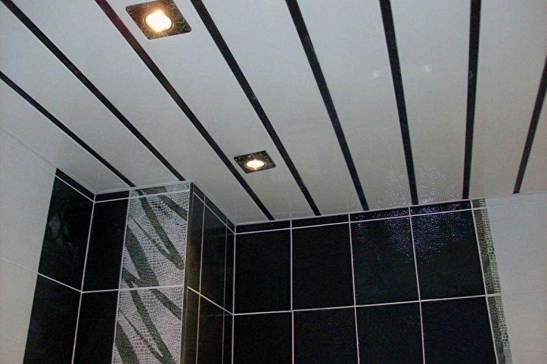 Виды пластиковых панелей для ванной комнаты - В зависимости от размеров и способов крепления