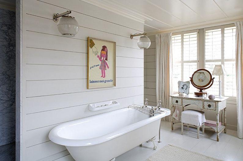 Пластиковые панели для ванной комнаты - фото