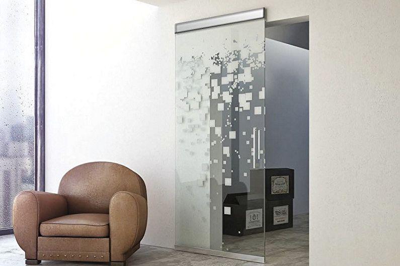Стеклянные межкомнатные двери - Преимущества и недостатки