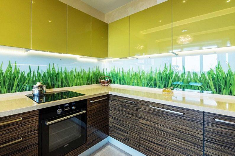 Скинали для кухни (70 фото): идеи дизайна