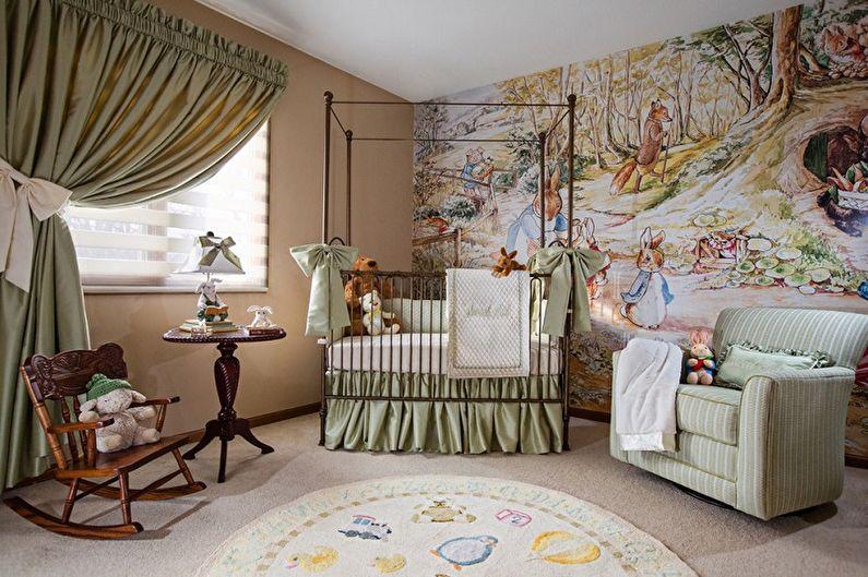 Детские кроватки для новорожденных (75+ фото)