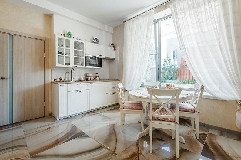 Mutfakta tül: 70 güzel fotoğraf fikri