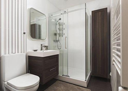 Ванная с душевой кабиной (85 фото): идеи дизайна