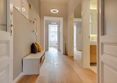 Дизайн коридора в квартире: 80 фото и идей