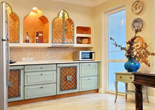 Кухня в восточном стиле: 75 фото-идей