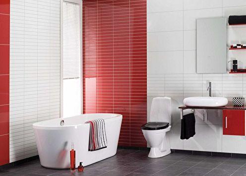 Пластиковые панели для ванной (85 фото)