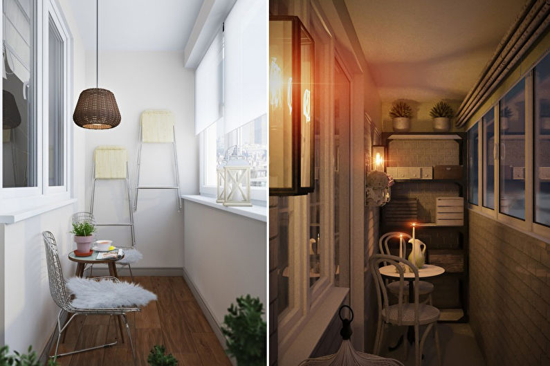 Дизайн балкона / лоджии - Особенности