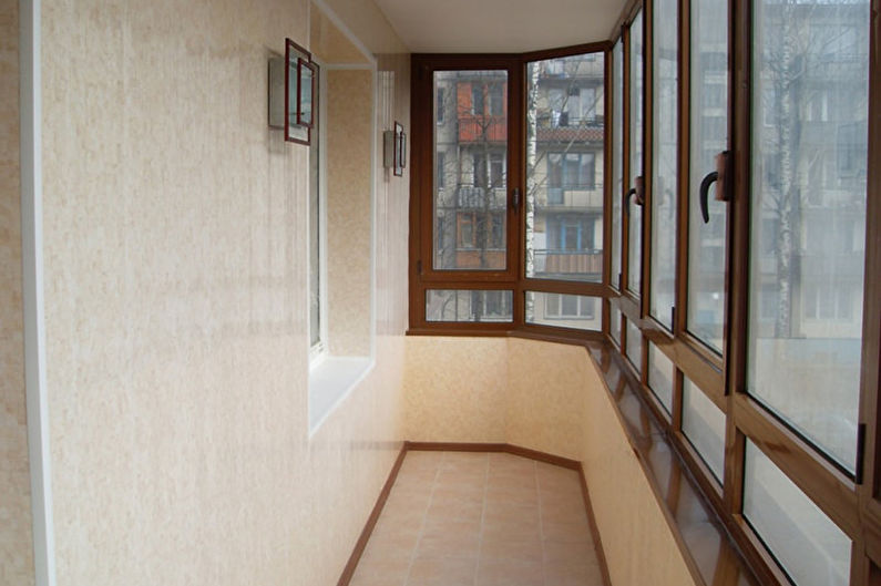 Дизайн балкона / лоджии - Отделка пола