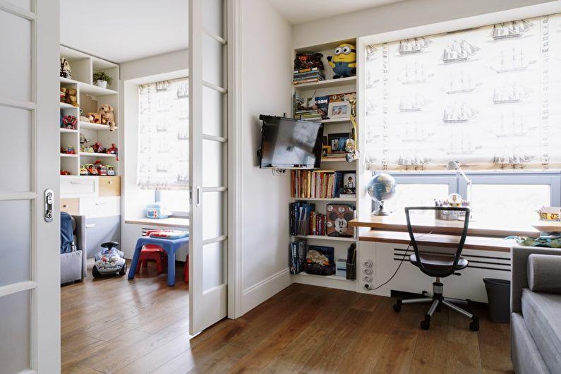 Детская комната в современном стиле - Дизайн интерьера