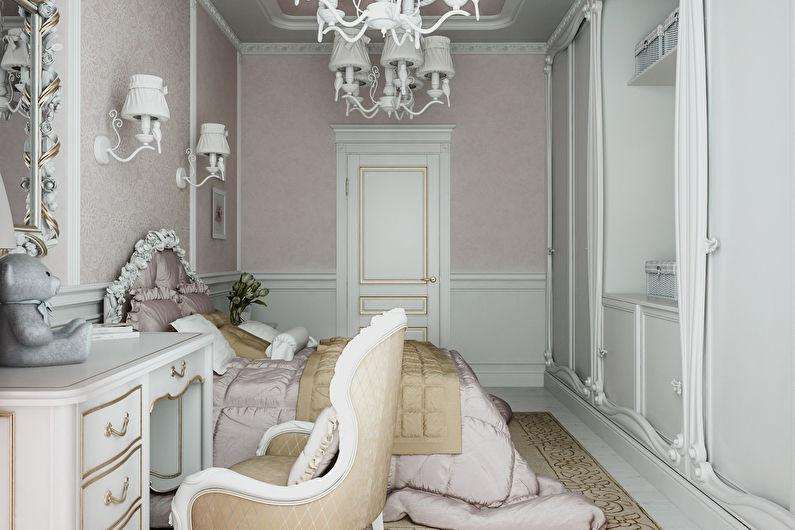 Детская комната в классическом стиле - Дизайн интерьера
