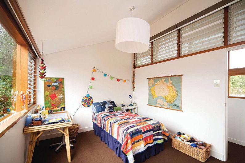 Дизайн детской комнаты - Декор и освещение