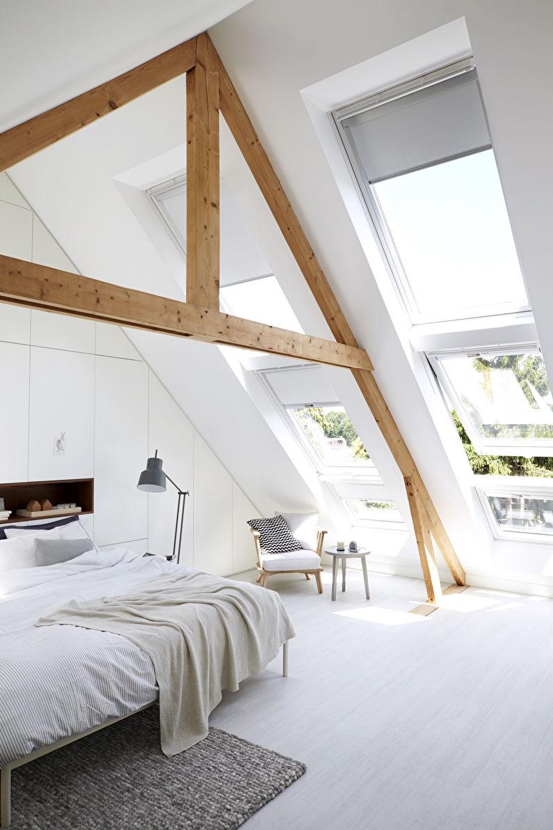 дизайн мансарды 85 фото интерьер спальни гостиной кабинета