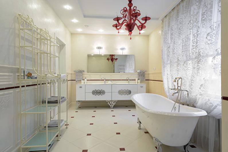 Ванная в классическом стиле - Особенности