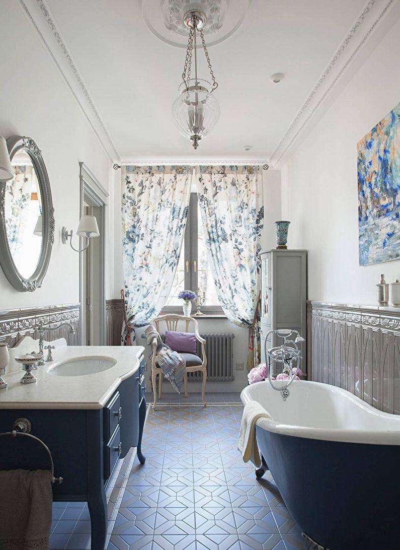 Ванная в классическом стиле - Декор и освещение