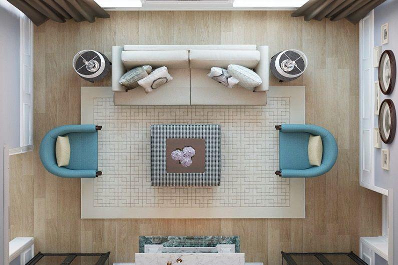 Мебель для гостиной 16 кв.м.