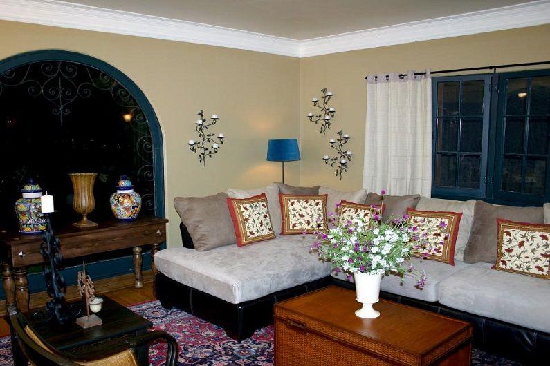 Дизайн интерьера гостиной 16 кв.м. - фото