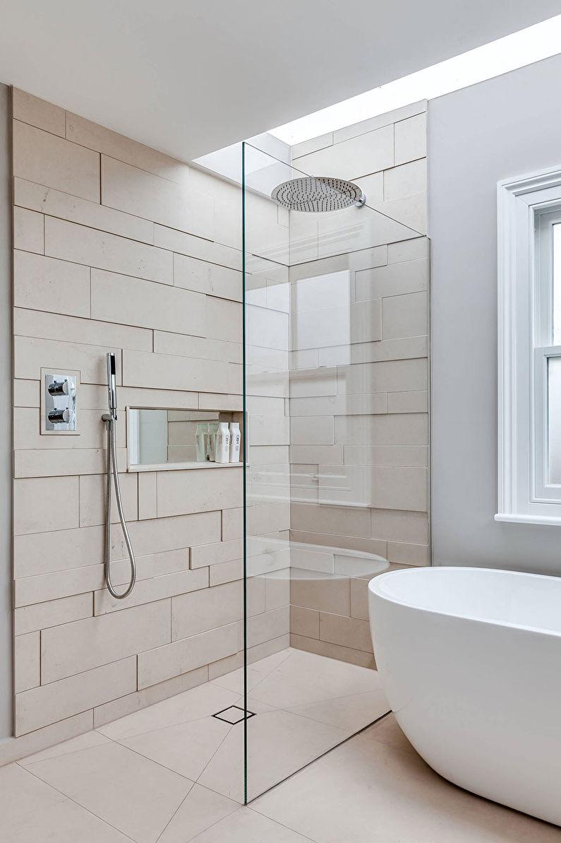 Дизайн ванной в скандинавском стиле - Сантехника