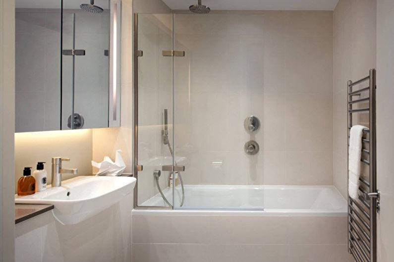 Дизайн ванной комнаты в современном стиле (72 фото): идеи интерьеров, ремонт