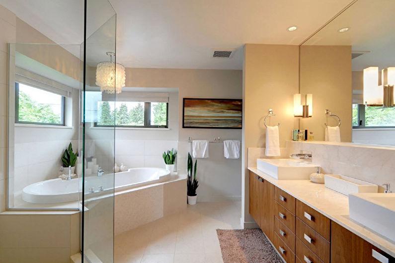 Дизайн ванной в современном стиле - Сантехника