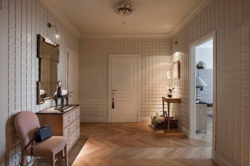 Дизайн прихожей в классическом стиле - Мебель