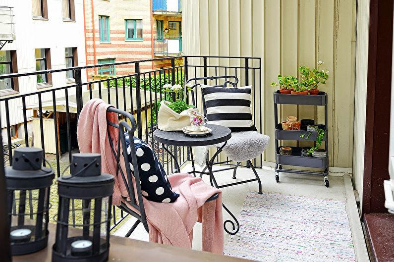 Дизайн интерьера балкона  -  лоджии: 76 фото и идей для ремонта