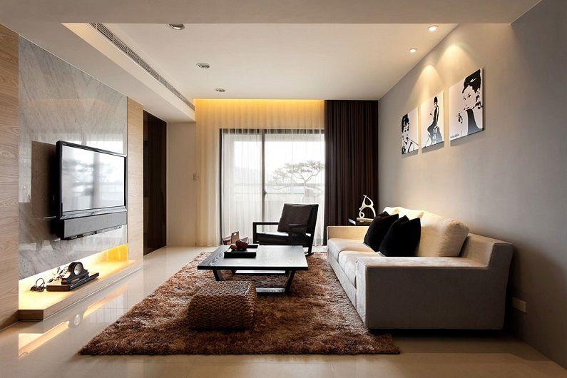 Дизайн гостиной 16 кв.м. (70 фото)
