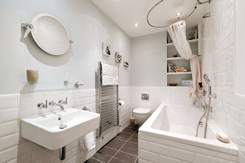 Как сделать просторную ванную комнату