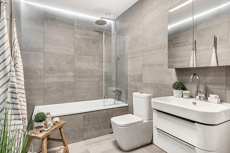 Ванная комната в современном стиле (+72 фото)
